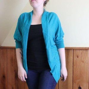 Mossimo Open Front Cardigan Dolman Sleeve